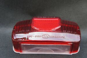 LAMBRETTA S1 S2 S3 Rear Tail Light Lens Cover and Gasket