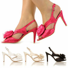 Women's Slim Mid Heel (1.5-3 in.) Slingbacks Sandals & Beach Shoes