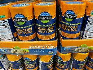 6 x Wild Planet Wild Albacore Tuna Steak Delicious White Tuna Steak 5 oz 06/2024