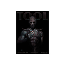 Tool Brooklyn Poster Print Barclays Center New York NY Fear Inoculum 2019 Event