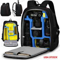 K7 Large Durable Camera Bag Backpack For Canon Nikon Sony Pentax Leica SLR DSLR