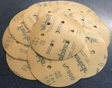 """45 Discos Abrasivos de película xFARECLA Grip 150mm Pack 6"""" 15xP1200 15xP1500 15xP2000"""
