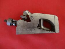 Vintage RECORD NO 077A Bull Nose Rabbet Plane England PARTS REPAIR (1735)