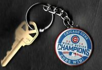 2016 World Series Champions CUBS WIN Chicago Cubs Keychain Key Chain