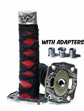 JDM Samurai Sword Shift Knob Shifter Katana Metal Weighted Sport With Adapters