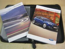 FORD FOCUS  OWNERS MANUAL -OWNERS HANDBOOK 2013-2016 plus SERVICE BOOK