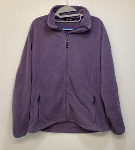 Berghaus Women's UK 16 Purple Fleece Jacket