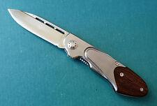 BERETTA Perennia Bascula Gent Knife - Fine Edge 440C Drop Point Blade Folder