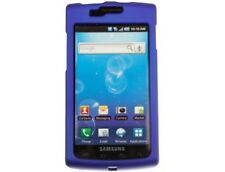 Rubber Coated Cover Dark Blue For Samsung Captivate
