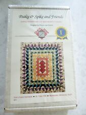 Peaky & Spike and Friends 12 Quilting Templates Doreen Speckmann Quilt New