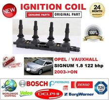 FOR OPEL VAUXHALL SIGNUM 1.8 122 bhp 2003-ON IGNITION COIL with SPARK PLUG CONN