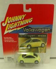 2002 Johnny Lightning Volkswagen 2001 New Beetle Yellow Green RARE Edition