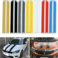 Universal 130x24 Cm Auto Strisce Adesive Fasce Cofano Decalcomania Vinyl Diy