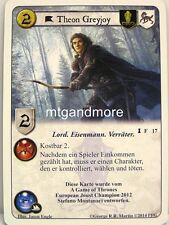 A game of thrones LCG - 1x Theon Greyjoy dt. #017 - botín de guerra