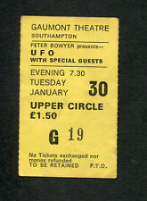 Original 1979 Ufo Liar Concert Ticket Stub Gaumont Southampton Uk Obsession