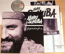 LARRY SCHUBA - Großstadtsinfonie  (MARLBORO 1987 + OIS + POSTER + INFO / LP m-)
