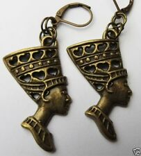 Handmade Brass Costume Earrings