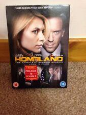 Homeland - Series 2 - Complete (DVD, 2013, 4-Disc Set, Box Set)