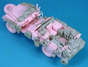 Legend 1/35 British SAS Land Rover Pink Panther Stowage Set (for Tamiya) LF1261