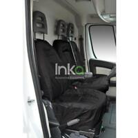 Citroen Relay INKA Front Tailored Waterproof Seat Covers Black MY06 onwards MK 3