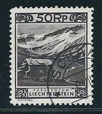 Liechtenstein Scott #102a – perf 11½ 50 Rappen Alpine Hotel Stamp – Used