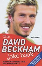 The David Beckham Joke Book, A.C. Parfitt, New Book