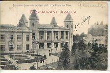 CP Belgique - Exposition Universelle de Gand 1913 - Le Palais des Fêtes