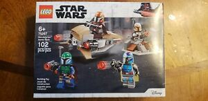 IN HAND SHIPS TODAY! STAR WARS LEGO SET 75267 THE MANDALORIAN BATTLE PACK MISB