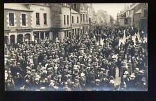 More details for scotland selkirk common riding street scene 1920 rp ppc