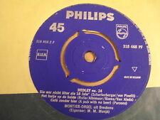 45T SINGLE PHILIPS / MORTIER-ORGEL UIT BRESKENS - MEDLEY N° 24