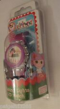 MZ Berger & Co. Lalaloopsy Flashing Lights LCD WristWatch Watch