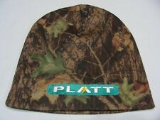 PLATT ELECTRIC - CAMOUFLAGE - SKULL FIT STYLE S/M SIZE STOCKING CAP BEANIE HAT!
