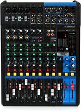 Yamaha MG12XU 12 input 4 bus Mixer with Effects MG12 XU MG12-XU USB