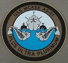 US Navy Decal - Sticker - USS McKee AS-41