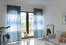 Polyester Blackout Window Curtain Blackout Drape Bedroom Living Room Decor