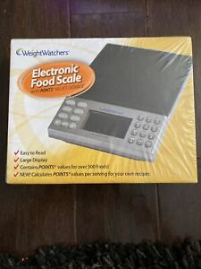 Weight Watchers Electronic Food Scale with Points Values Database