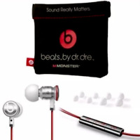 Genuine urBeats Earbuds with Mic In-Ear Beats  Beats by Dr. Headphones - white