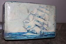 Vintage Tin Milady Toffee Waller & Hartley Ltd. Blackpool England Candy Tin
