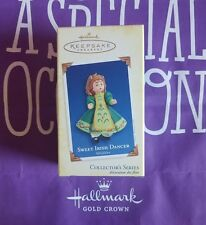 HALLMARK 2005 SWEET IRISH DANCER MIB >>