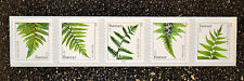 2015USA #4973a-4977a Forever  Ferns PNC Coil Strip of 5 Mint  #S1111 (2015 date)