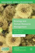 Strategy and Human Resource Management by John Purcell, Peter Boxall (Paperback,
