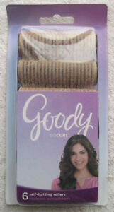 Goody Self Holding Rollers Waves Volume Curls Hair Curlers Sm Med Large XL Jumbo