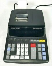 Sharp El-2196Bl 12 Digit Printing Calculator Fully Tested & Working Free S&H Euc