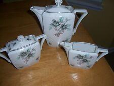 vintage czech china tea/chocolate set