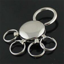 Detachable Clip Keyring Chain Keychain Key Chain Holder 4 Ring Keyring