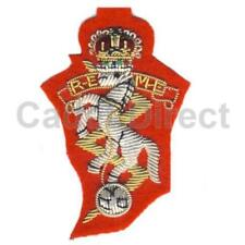 REME Officers Wire Embroidered Side Cap Badge