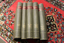 EP938: Grillparzer Meyers Klassiker Ausgaben 5 Bände Rudolf Franz um 1903