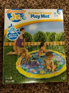 Banzai 54in-Diameter Sprinkle and Splash Play Mat : Ages 18 mos+