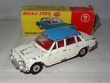 * dinky TRIUMPH 2000 - 135 boxed