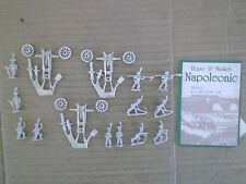15mm Mini Figs  Duchy of Warsaw  Foot Artillery w/ Heavy Guns